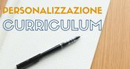 Personalizzazione curriculum